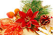 Christmas Bells Decoration Closeup Image stock image