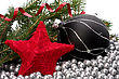 Sphere Christmas Border stock photography