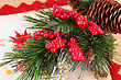 Christmas Colorful Decoration Closeup Image stock photo