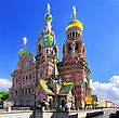 Church Of The Saviour On Spilled Blood, St. Petersburg, Russia stock photography