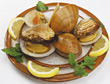 Clam Appetizer stock image