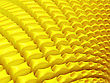 Close-up Of Abstract Yellow Petals. Large Resolution stock image