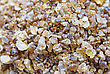 Close Up Of Brown Rock Candy stock image