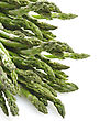 Spear Close Up View Of A Bunch Of Asparagus Vegetable stock photography