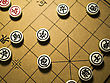 Closeup Of Chinese Chess And Board stock photography