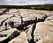 Co Clare, The Burren, Mullaghmore, Ireland stock image