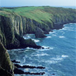 Coastline, Ireland stock image