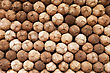 Coconuts Heap, Food Market, India stock photo