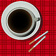 Cofee Cup And Cigarettes Illustration