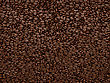 Coffee Beans Texture Or Background. Large Resolution stock photo