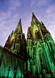 Cologne-Cathedral, Germany stock photography