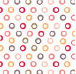 Color Background With Circles, Vector Format