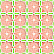 Colored 3D Green And Orange Striped Pointy Squares.Seamless Geometric Background. Modern 3D Texture. Pattern With Realistic Shadow And Cut Out Of Paper Effect