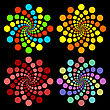 Colored Circles.