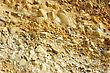 Colored Rough Yellow Rock Surface stock image