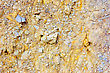 Colored Rough Yellow Rock Surface stock photo