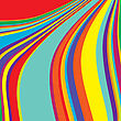 Colored Stripes, Background Illustration stock vector