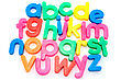 Colorful Alphabet Letters stock photo