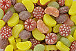 Colorful Candies Assortment , Close Up For Background stock image