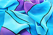 Colorful Fabric As A Background. stock image