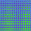 Colorful Halftone Background. Colored Dots Effect. Halftone Blue Green Pattern