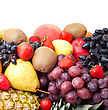 Colorful Healthy Fresh Fruit stock photography