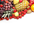 Colorful Healthy Fresh Fruit stock image