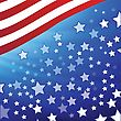 Colorful Illustration With American Flag For Your Design