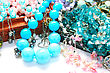 Colorful Jeweleries stock image