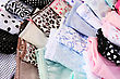 Colorful Panties Close Up Picture. stock image