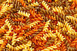 Colorful Pasta As A Background stock image
