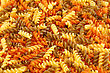 Italy Colorful Pasta As A Background stock photo