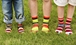 Colorful Socks stock photography