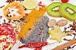 Colorful Spices - Beautiful Kitchen Image. stock photography
