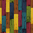Colorful Wooden Background. Vector, EPS10 stock illustration