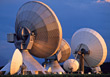 Communications Technology - Radio Telescope stock image