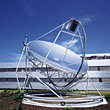 Communications Technology - Satellite Dish stock photo