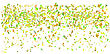Confetti Isolated On White Background For Your Background stock vector