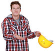 Disagreement Confused Builder stock photography