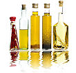 Cooking Oil Collection stock image