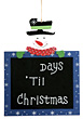 Countdown Til Christmas stock photo