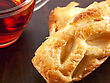 Cream Puffs Pastry With Cup Of Tea stock photography