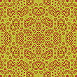 Creative Ornamental Colored Pattern. Geometric Decorative Background