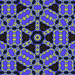 Creative Ornamental Mosaic Pattern. Geometric Decorative Background