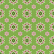 Creative Seamless Ornamental Mosaic Pattern. Geometric Decorative Background