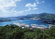 Cruise Ships, St. Thomas, Virgin Islands stock photo
