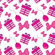 Cute Vector Bakery Background With Small Cupcake stock vector