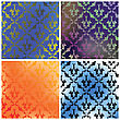 Damask Collection Backgrounds
