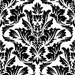 Damask Seamless Pattern. EPS 10 Vector Illustration Without Transparency