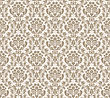 Damask Seamless Vector Pattern. For Easy Making Seamless Pattern Just Drag All Group Into Swatches Bar, And Use It For Filling Any Contours stock vector